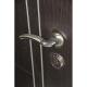 Входная металлическая дверь Дверной Континент Тепло-Люкс 3К (Дуб беленый)