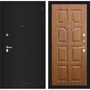 Входная дверь Лабиринт Классик 17 (Шагрень черная / Золотой дуб)