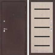 Входная дверь Лабиринт Классик 1 (Антик медный / Дуб белёный)