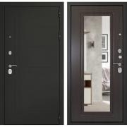 Входная металлическая дверь Дверной Континент Сити 3К с зеркалом (Венге)