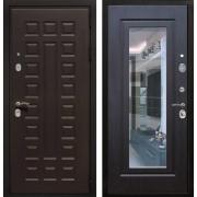 Входная металлическая дверь Армада Триумф 3К с Зеркалом (Венге / Венге)