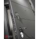 Входная дверь Лабиринт Арт 10 (Графит софт / Дуб филадельфия графит)