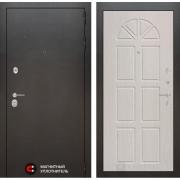 Входная дверь Лабиринт Сильвер 15 (Антик темное серебро / Алмон 25)
