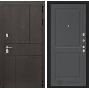 Входная дверь Лабиринт Урбан 11 (Дуб горький шоколад / Графит софт)