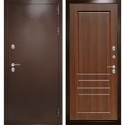Уличная дверь Лабиринт Термо Магнит 3 (Антик медный / Орех бренди)