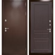 Уличная дверь Лабиринт Термо Магнит 3 (Антик медный / Орех премиум)