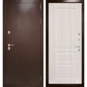 Уличная дверь Лабиринт Термо Магнит 3 (Антик медный / Сандал белый)