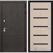 Входная дверь Лабиринт Урбан 1 (Дуб горький шоколад / Дуб беленый)