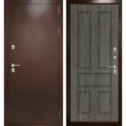 Уличная дверь Лабиринт Термо Магнит 10 (Антик медный / Дуб филадельфия графит)