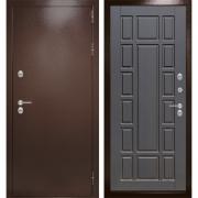 Уличная дверь Лабиринт Термо Магнит 12 (Антик медный / Венге)