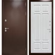 Уличная дверь Лабиринт Термо Магнит 8 (Антик медный / Кристалл вуд)