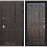 Входная дверь Лабиринт Урбан 16 (Дуб горький шоколад / Алмон 28)