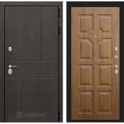 Входная дверь Лабиринт Урбан 17 (Дуб горький шоколад / Золотой дуб)