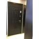 Входная металлическая дверь Лекс 8 Сенатор Венге с Молдингом (панель№24)