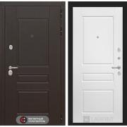 Входная дверь Лабиринт Мегаполис 3 (Венге / Белый софт)