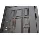 Входная дверь Лабиринт Нью-Йорк 9 (Венге / Лен сильвер грей)