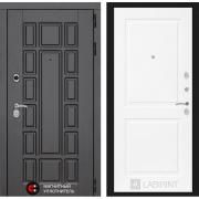 Входная дверь Лабиринт Нью-Йорк 11 (Венге / Белый софт)