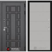 Входная дверь Лабиринт Нью-Йорк 13 (Венге / Грей софт)