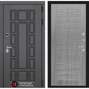 Входная дверь Лабиринт Нью-Йорк 6 (Венге / Сандал серый)