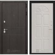 Входная дверь Лабиринт Урбан 15 (Дуб горький шоколад / Алмон 25)