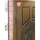 Входная металлическая дверь Лекс Спартак Cisa с Зеркалом Берёза морёная (панель №30)