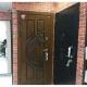 Входная металлическая дверь Лекс Спартак Cisa Клеопатра-2 Белёный дуб (панель №58)