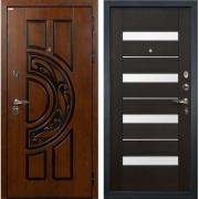 Входная металлическая дверь Лекс Спартак Cisa Сицилио Венге (панель №51)