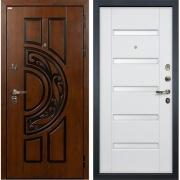 Входная металлическая дверь Лекс Спартак Cisa Ясень белый (панель №34)