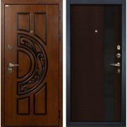 Входная металлическая дверь Лекс Спартак Cisa Новита Венге (панель №53)
