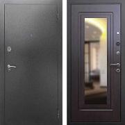 Стальная дверь с зеркалом (в квартиру) New Line 2A Зеркало Венге