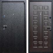 Входная железная дверь (в квартиру) New Line М-3 Венге