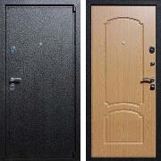 Входная железная дверь (в квартиру) New Line М-3 Дуб светлый