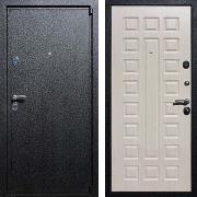 Входная железная дверь (в квартиру) New Line М-3 Беленый дуб