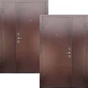 Входная двустворчатая дверь (техническая) New Line М-Тамбурная