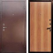 Металлическая дверь ДМ - Эконом Миланский Орех
