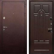 Шумоизоляционная металлическая дверь (в квартиру или дом) New Line 5А Венге