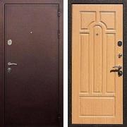 Шумоизоляционная железная дверь (в квартиру или дом) New Line 5А Дуб светлый