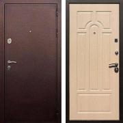 Шумоизоляционная входная дверь (в квартиру или дом) New Line 5А Беленый дуб