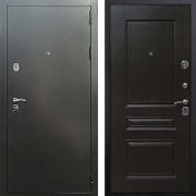 Входная антивандальная дверь (в квартиру или дом) New Line 5 ФЛ-243 Венге