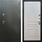 Входная антивандальная дверь (в квартиру или дом) New Line 5 ФЛ-243 Ясень Белый