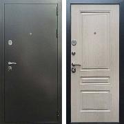 Входная антивандальная дверь (в квартиру или дом) New Line 5 ФЛ-243 Беленый дуб