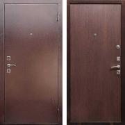Металлическая дверь ДМ - Эконом Венге
