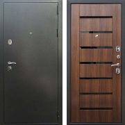 Стальная дверь (в квартиру или дом) New Line Титан Орех бренди