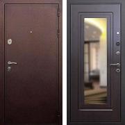 Входная дверь с зеркалом (в квартиру или дом) New Line 5А Зеркало Венге