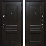 Стальная дверь (в квартиру) New Line Премиум Н Венге