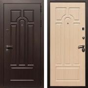 Входная дверь (в квартиру) New Line Эврика Беленый Дуб