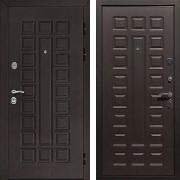 Взломостойкая железная дверь (в квартиру) New Line Сенатор Венге