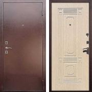 Входная дверь (в квартиру) New Line M-1 Беленый дуб