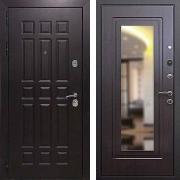 Толстая дверь с зеркалом (в квартиру) New Line М-8 Зеркало Венге
