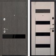 Стальная дверь (в квартиру) New Line Премьер Z-1 Венге светлый